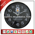 Large Black Country Style Wall Clocks