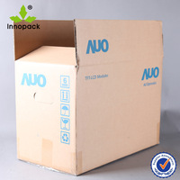 Printed Double Wall Corrugated Cardboard Boxes with Custom Logo
