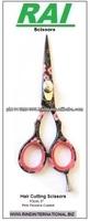 High Quality Carbon Steel Sharp Razor Scissor for Sale 5.5 inch Mirror Polished Razor Scissors