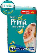 PRIMA ACTIVE BABY MEGA PACK SIZE : 3+