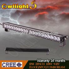 Discount!IP68 22''100W CREE Chips Single Row Highpower Topbright LED Light Bar(OL8010-100,100W) 9~32v DC, OWLLIGHTS led Lightbar