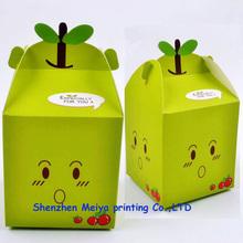 special design paper cardboard apple fruit packaging boxes