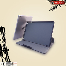 Folio flip canvas tablet case pasted bamboo for ipad 3/4
