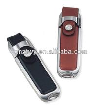 New fashion leather usb flash memory,new item cheap usb drive bulk