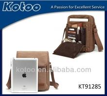 2014 nice canvas shoulder bag for ipad /wholesale waist bag for ipad