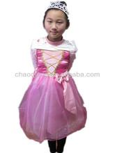 pink princess girls sex party costume