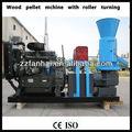 Pellet di legno diesel con rullo che forma macchina tornitura/legno macchina di granulazione/mulino