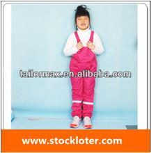 Girls Winter Snow Pant Waterproof Sport Ski Pant Trousers Stock, 140107(3)