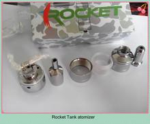 Airflow control rocket e cig russian 91% diy atomizer