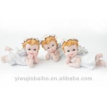 Fashion Polyresin Angel Gifts,Church Gift,Baby Girl Angel. XQ721093