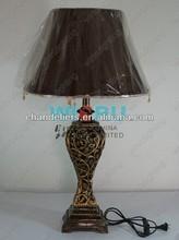Art retro table lamp bedroom bedside lamp