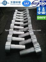 forged steel shaft blank