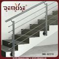 corrimano in acciaio filo di ringhiera scale di cemento