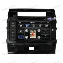 multi-media 2 din steering wheel car dvd player with built-in GPS nevigator/Bluetooth/Audio/Radio/Ipod for Toyota Land Cruiser