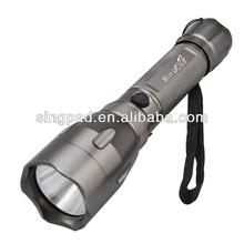 Cree XM-L T6 800lm 5-Mode Attack Head White Flashlight - Iron Grey (1 x 18650)