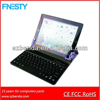 slide wireless bluetooth keyboard case for 9.7 inch tablet ,9 inch tablet