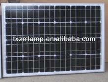 2014 12V 260W monocrystalline Silicon solar panels