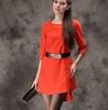 fashion summer european ladies casual dress export clothes