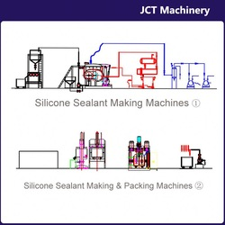 machine for making roof and gutter silicone sealant
