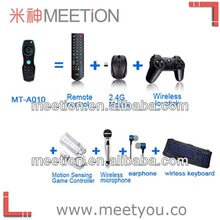 Air mouse with keyboard for android tv box