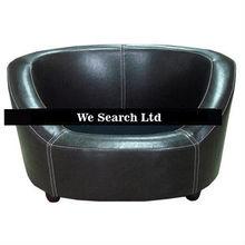 luxury leather dog sofa/ leather dog bed