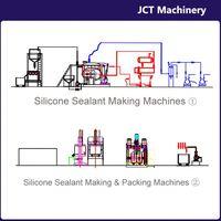 machine for making liquid silicone structural sealant