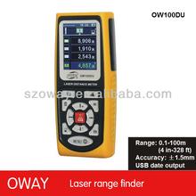 Profesional de distancia del laser instrumento de medición de los fabricantes que venden