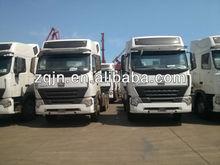 EURO II 420hp 10 wheels HOWO A7 tractor truck