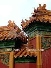 potting mix roof cover for Asian classical architecture