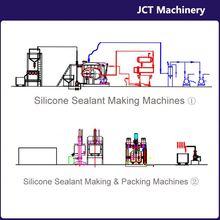 machine for making natural cure silicone retardant sealant