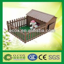 Cute Wood Plastic Composite WPC Pet House
