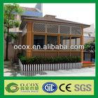Outdoor Garden WPC Prefab Houses
