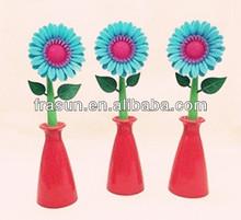 Popular Sunflower Kids Colorful Novelty Promotional Flower Pen