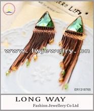 2014 whosale fashion glitter earrings