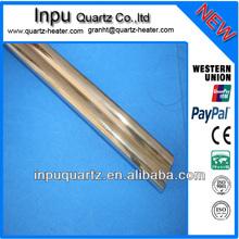 double bore quartz tubes