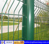 ISO 9001:2008 High Quality Green Vinyl Coated Welded Wire Mesh Fence
