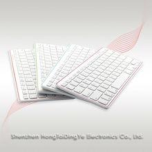 Apple style ABS Bluetooth Wireless Keyboard for Apple iPad iMac PC