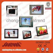 2014 hot model! new design hot model ads digital photo frame users manual