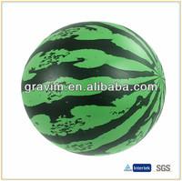 Beautiful melon toy PVC beach ball