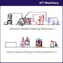 machine for making ceramic silicone sealant