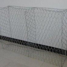 140mm*160mm galvanized gabion mesh /flood fighting net cage