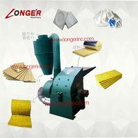 Rock wool smashing machine|Sponge crushing machine|Cystosepiment board crusher|Waste paper crushing machine|Paper carton crusher