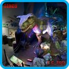 Theme park high simulation dinosaur model - carnotaurus