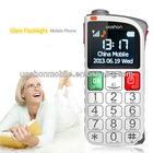 2013 new product best selling big keyboard mobile phone for elderly big button senior phone