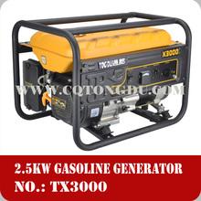 China top brand manufacturer, cheap price honda style generator 2.5kw