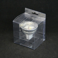 clear pet transport box for packaging