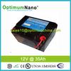 long life span 12v 35Ah lithium lifepo4 e-bike battery pack