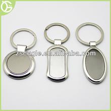 Custom cheap blank metal keychain