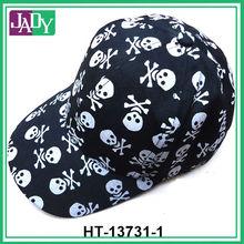 Wholesale cheap mens skull print cap