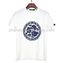 Custom Design Slim Fit 100% cotton t shirt for men